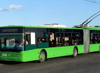 В Харькове на две недели отменят два троллейбусных маршрута