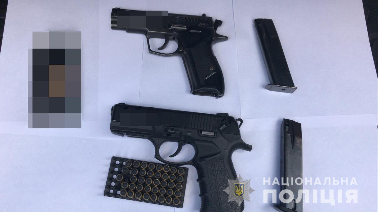 В Харькове разоблачили торговца оружием (фото)