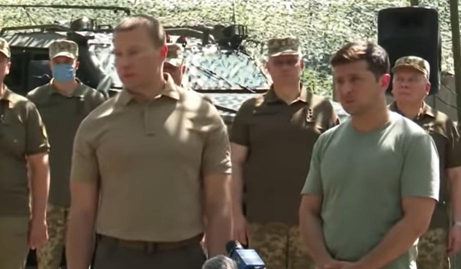 Президент Украины дал свою оценку ситуации в зоне ООС (видео)
