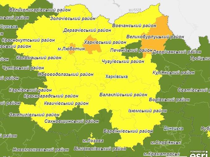 Вступило в силу новое зонирование Харьковщины