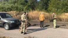Харьковские пограничники задержали россиянина, который нелегально перешел границу