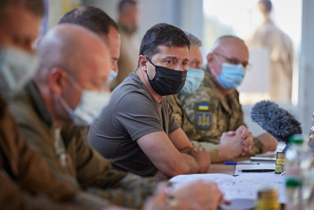 На Донбассе режим тишины сохраняется уже 62-й день – Зеленский