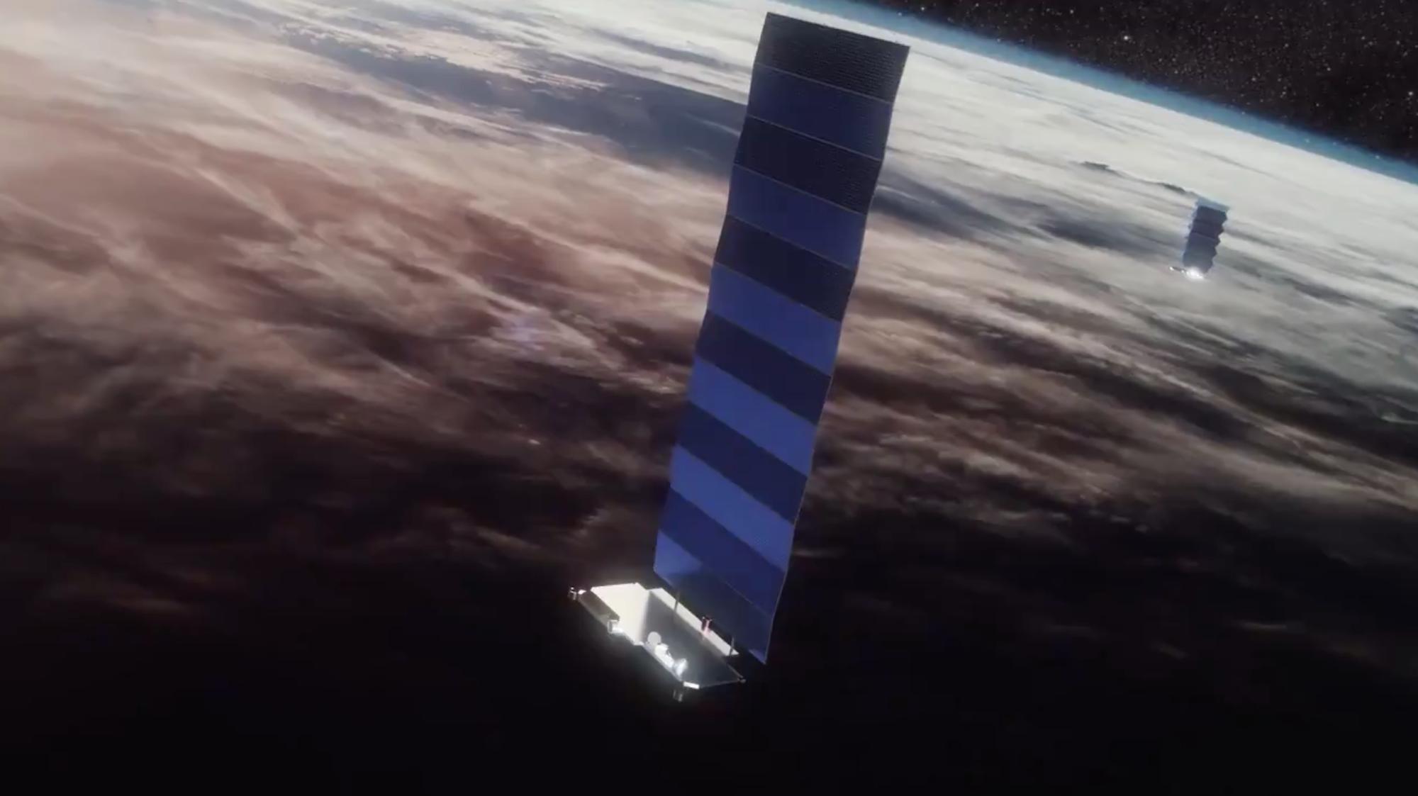 SpaceX має намір у понеділок запустити на орбіту 60 інтернет-супутників Starlink