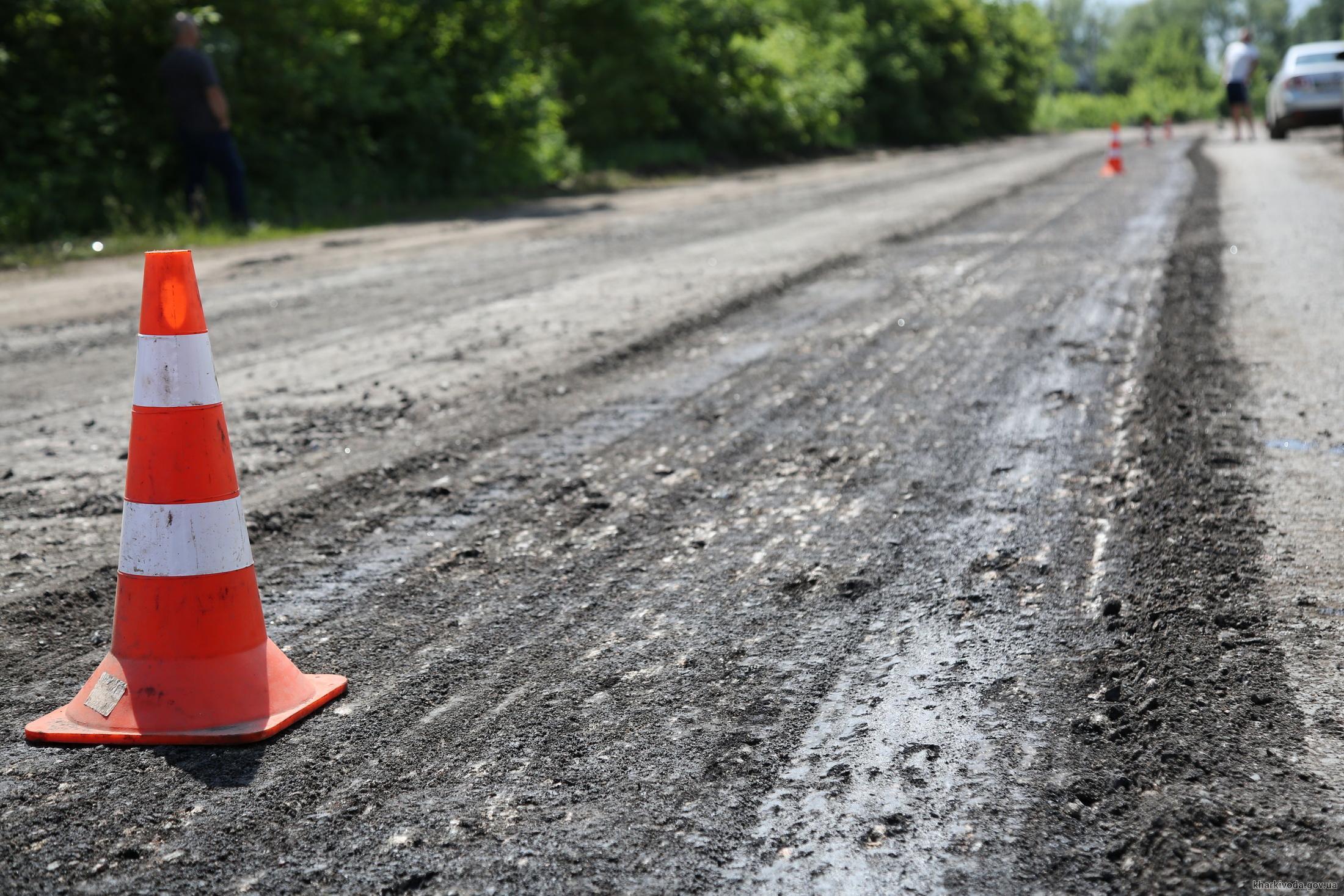 На Харьковщине перераспределили 18 млн грн на дороги