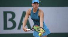 Украинская теннисистка вышла в основную сетку турнира Ролан Гаррос