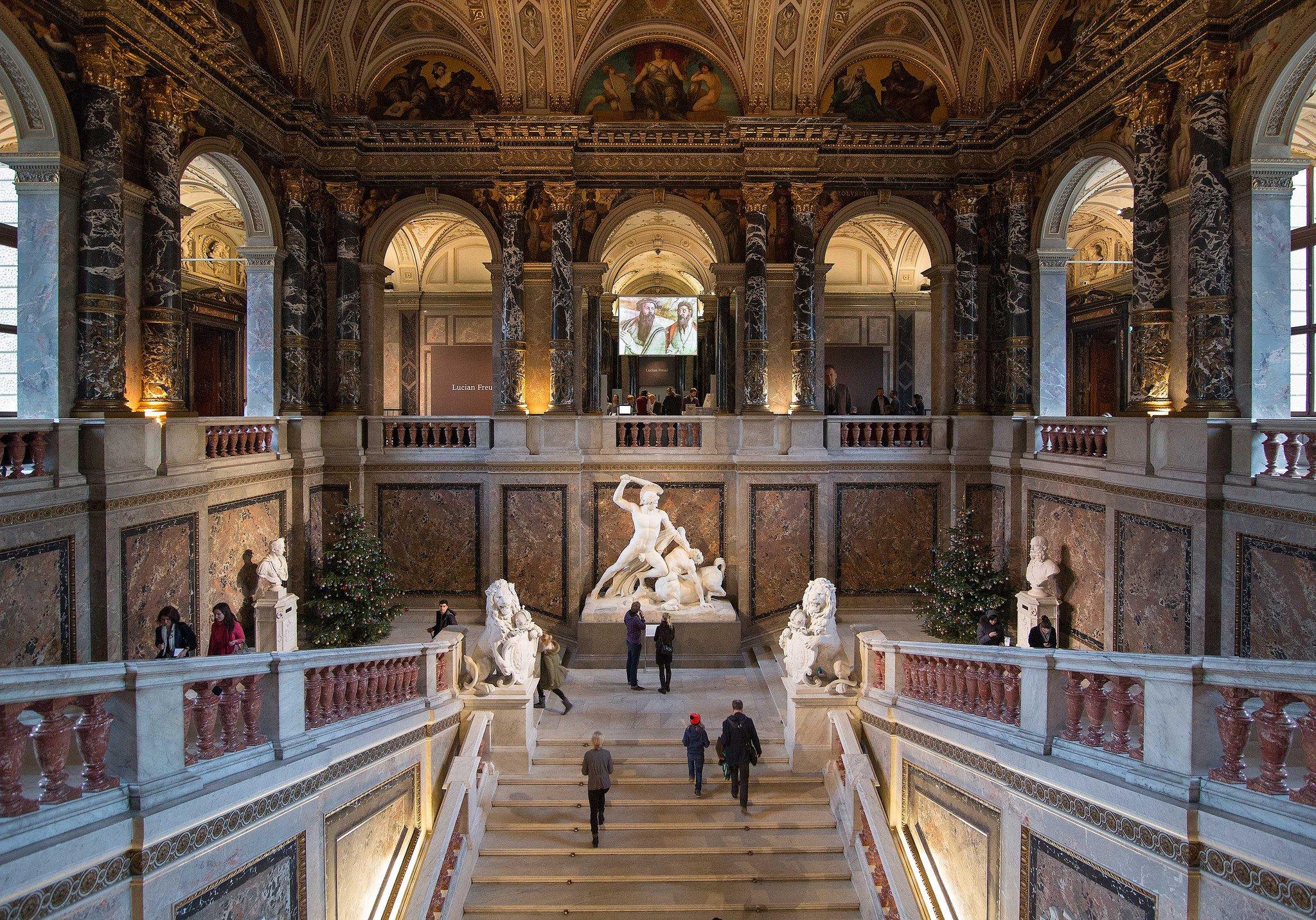 Музей истории искусств в Вене запустил украинский аудиогид в рамках инициативы Елены Зеленской