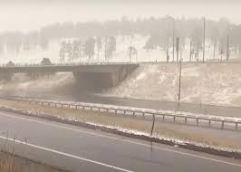 В Монтане, Вайоминге и других штатах выпал снег (видео)