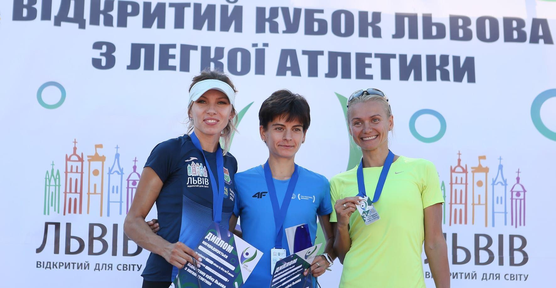 Харьковские легкоатлетки — на подиуме в Стамбуле и Львове