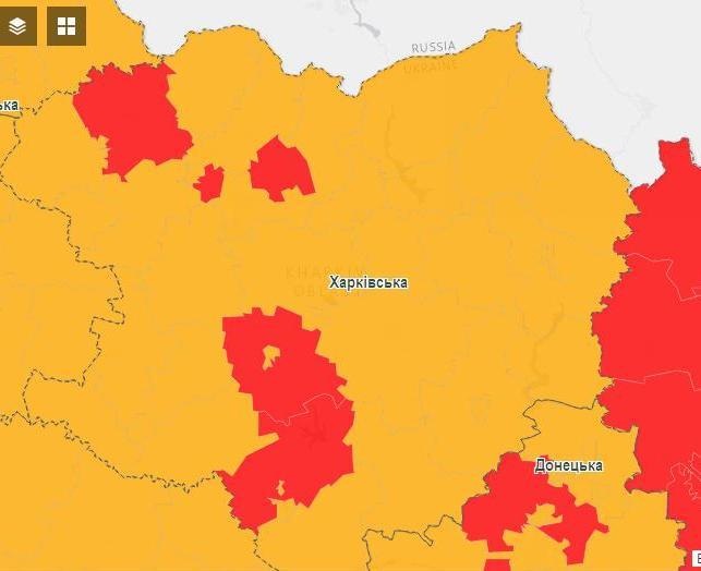 """Харьков в """"красной"""" зоне: вступило в силу новое карантинное зонирование"""