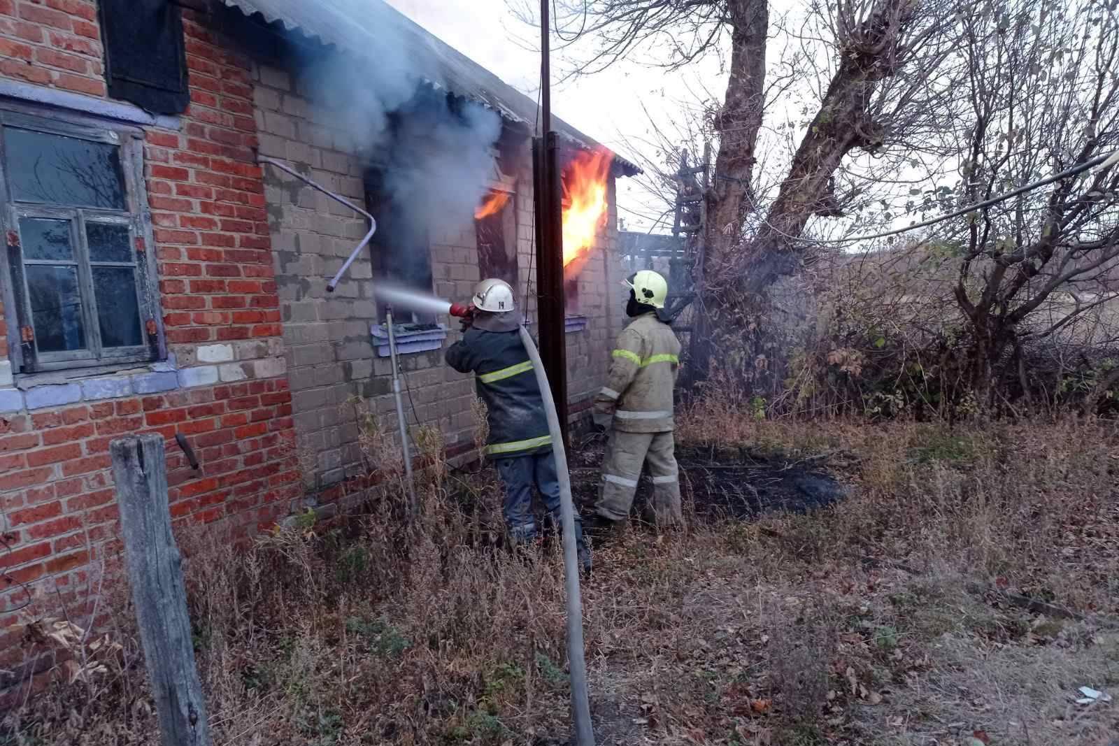 Пожар забрал жизнь курильщика (фото)