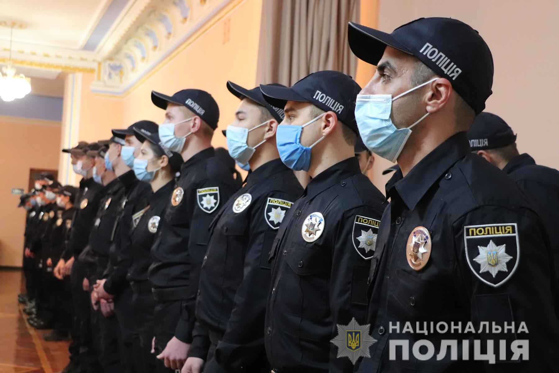 Подразделения харьковской полиции пополнились новыми кадрами (фото)