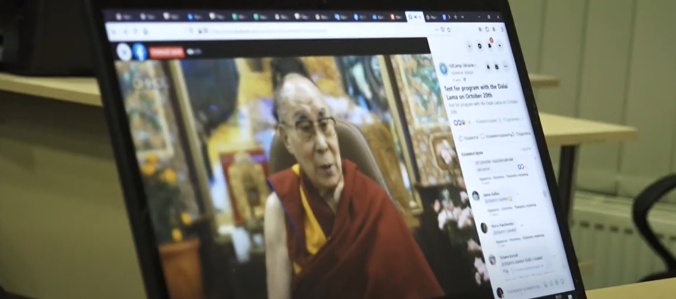 Які поради дав лауреат Нобелівської премії миру Далай-лама українцям (відео)