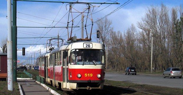 В Харькове меняется движение трамваев