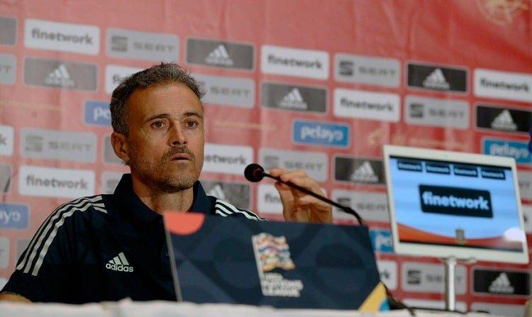 Сборная Испании не чувствует угрозы со стороны сборной Украины – Луис Энрике