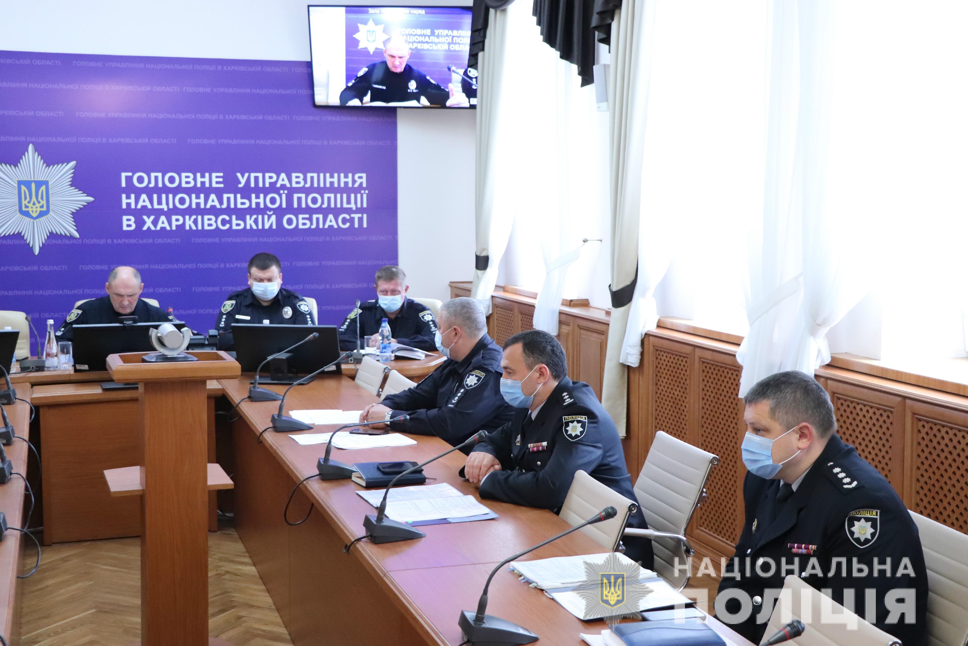 В Харьковской области за порядком на местных выборах будут следить 9 тыс. полицейских