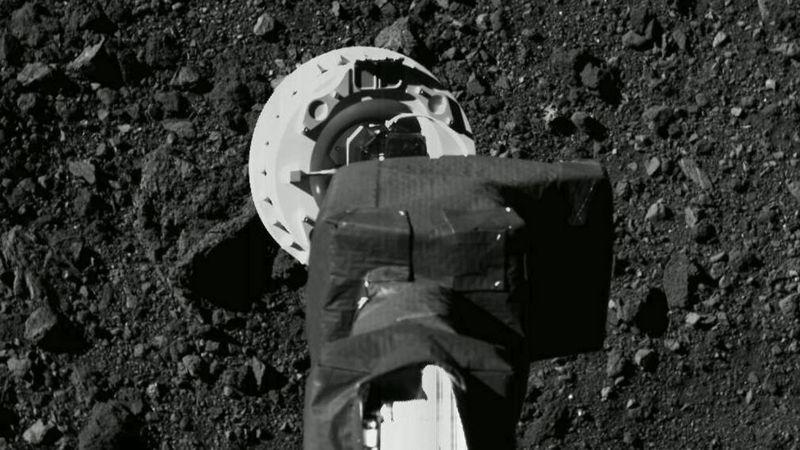 «Осирис» коснулся астероида Бенну (фото)