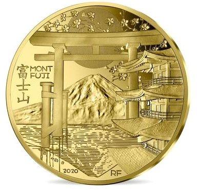 Во Франции выпустили золотую монету номиналом 200 евро (фото)