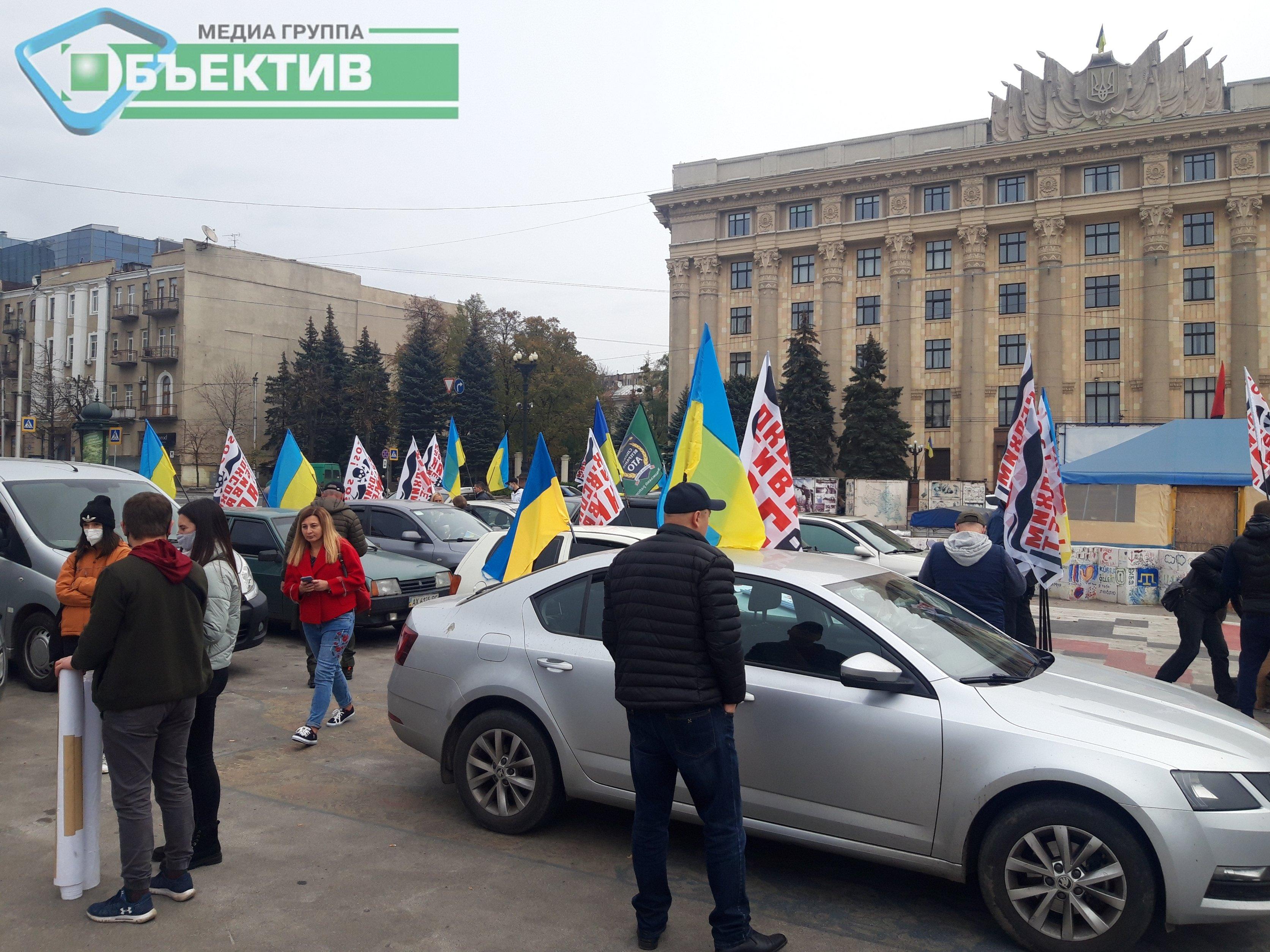 У Харкові розпочався автопробіг проти діяльності коксового заводу (фото, відео)