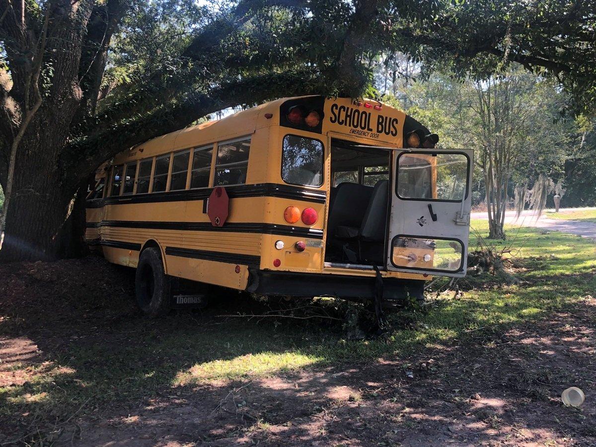 11-летний школьник в США угнал огромный школьный автобус и устроил гонки с полицией (фото)