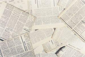 О чём писали местные газеты 100 лет назад