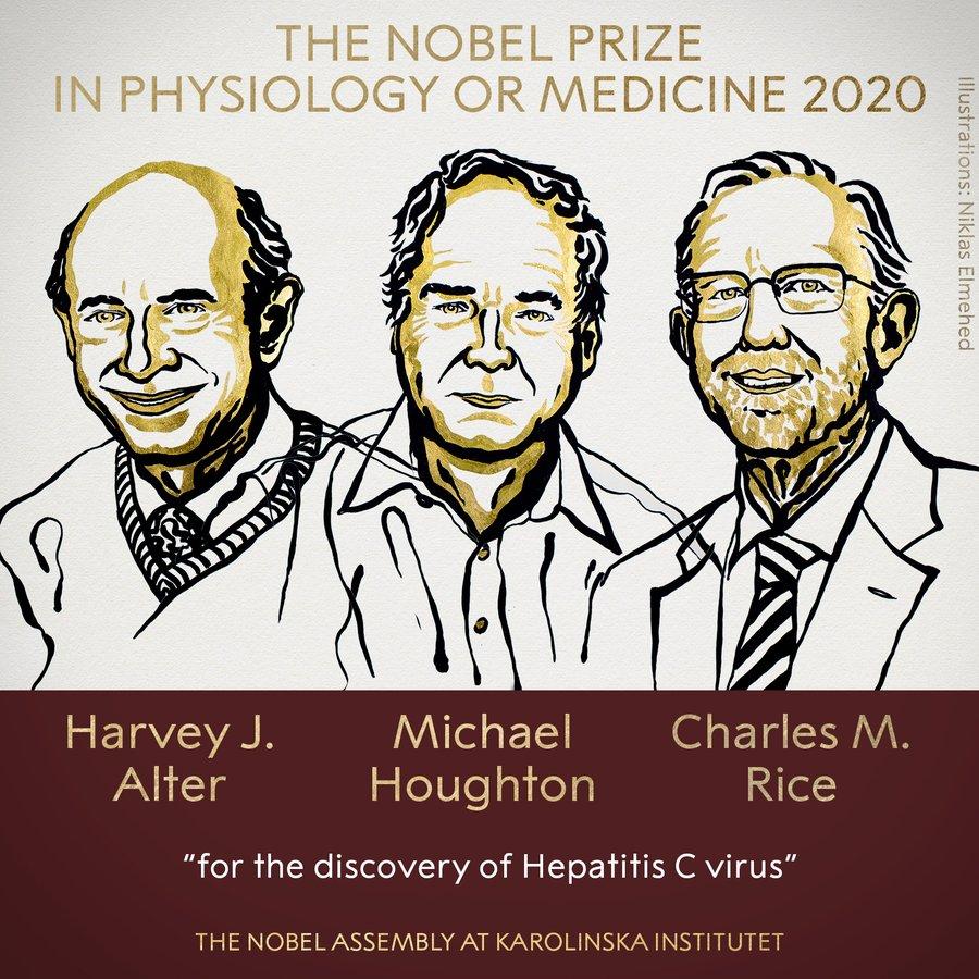 В Швеции огласили лауреатов Нобелевской премии в области медицины