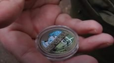За мотивами плакату харківського художника відчеканили монету (відео)