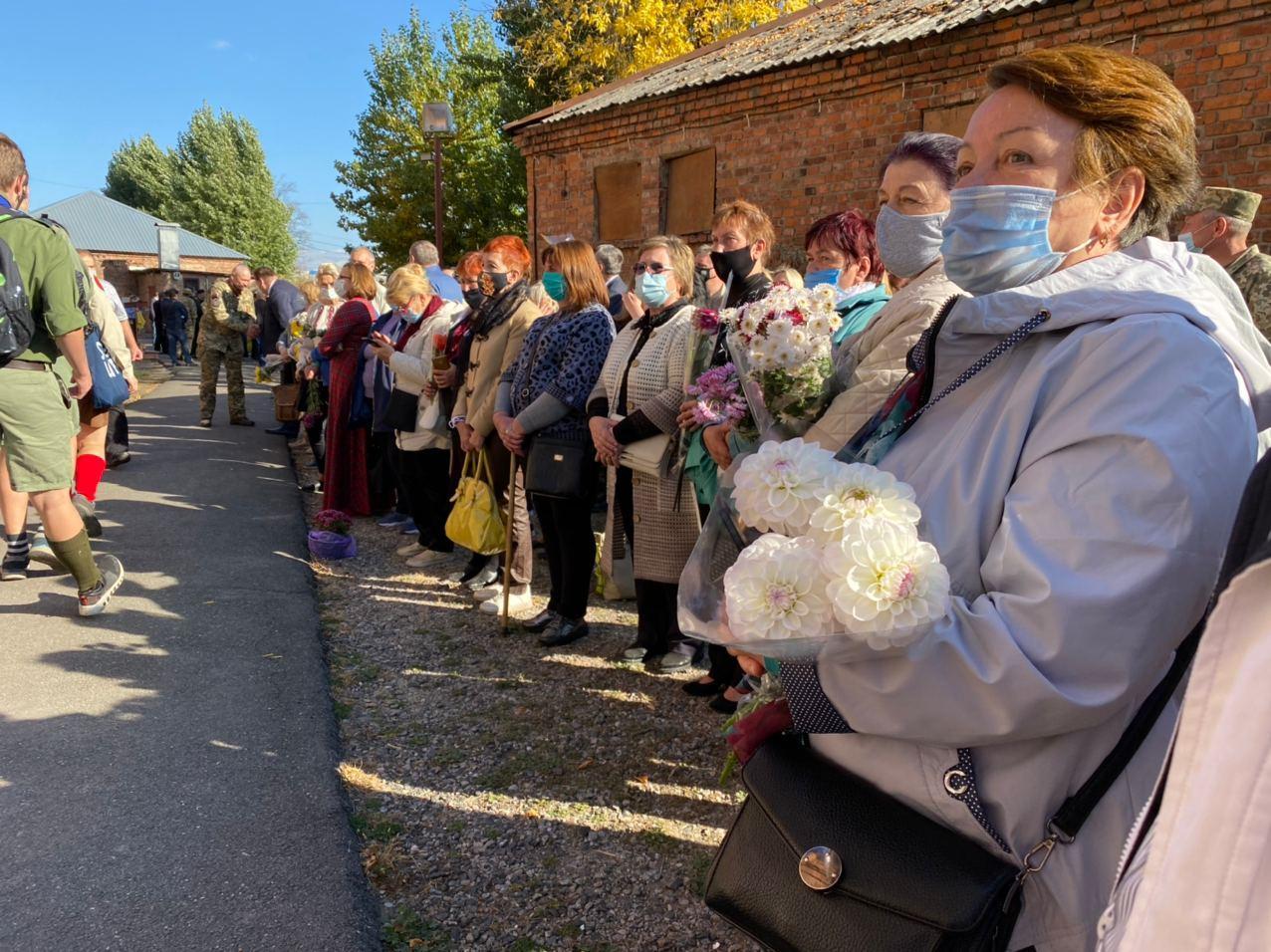 У Харкові відкрили меморіальну дошку на честь загиблих бійців на Донбасі (відео, фото)