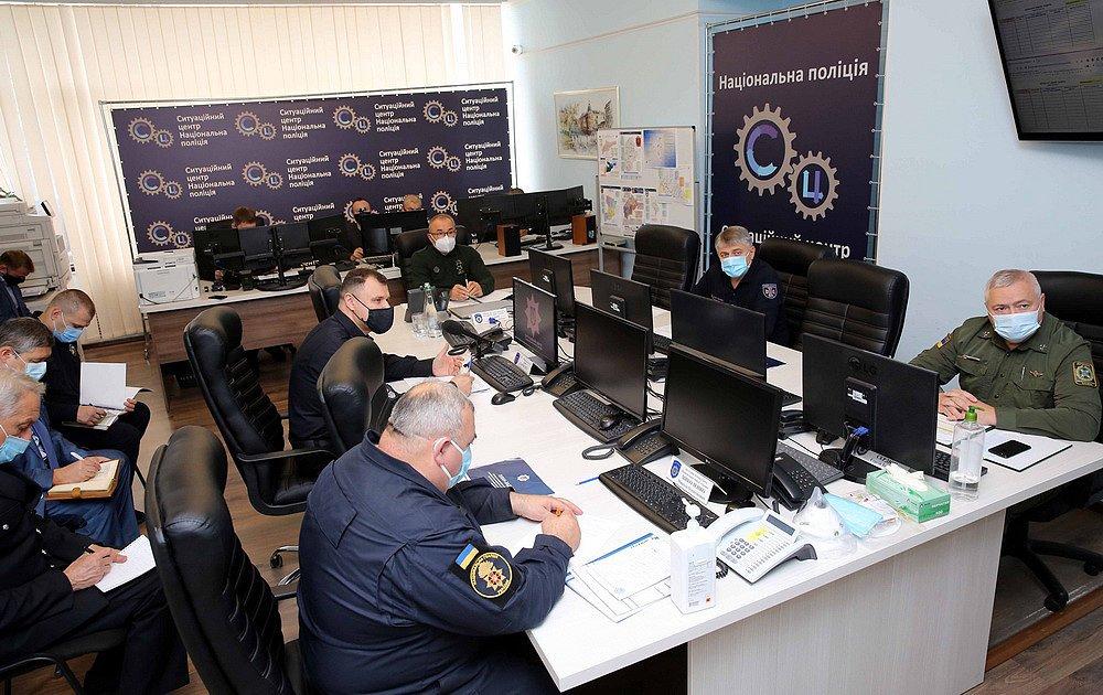 Підготовка до місцевих виборів: МВС розпочало командно штабні навчання