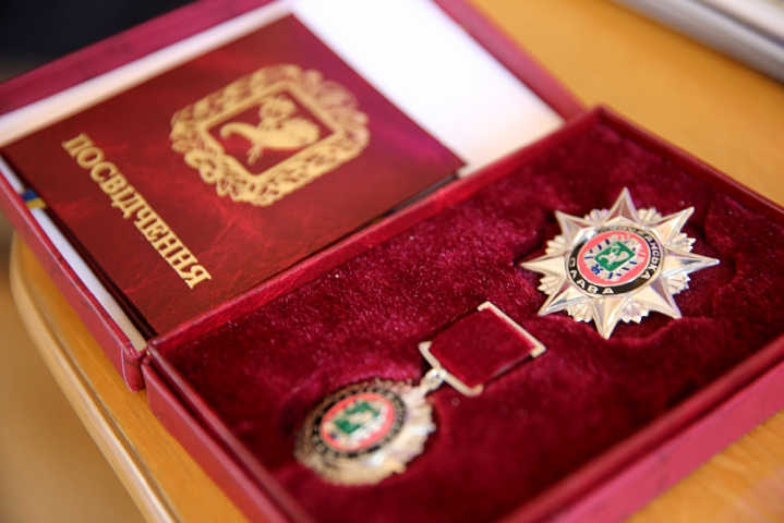 """Почетным знаком """"Слобожанская слава"""" был награжден ветеран труда Николай Карнаух"""