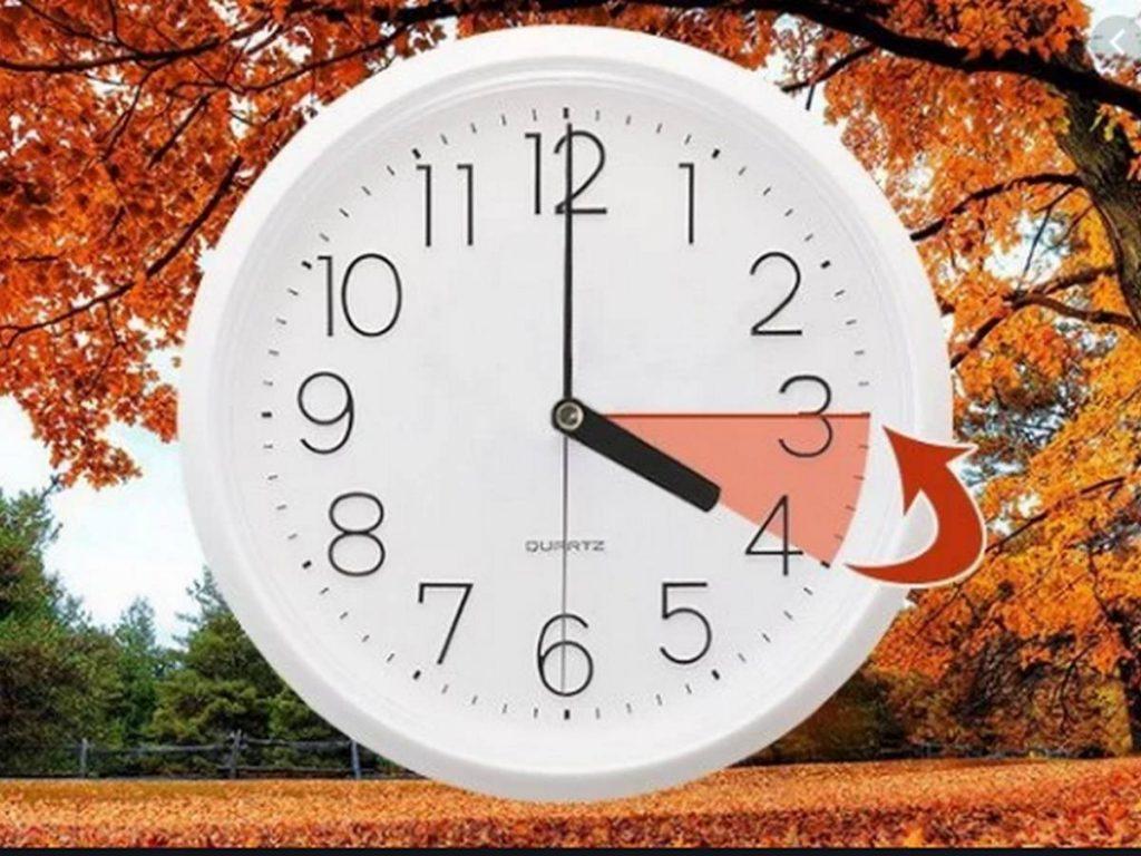 25 октября Украина перейдет на «зимнее» время