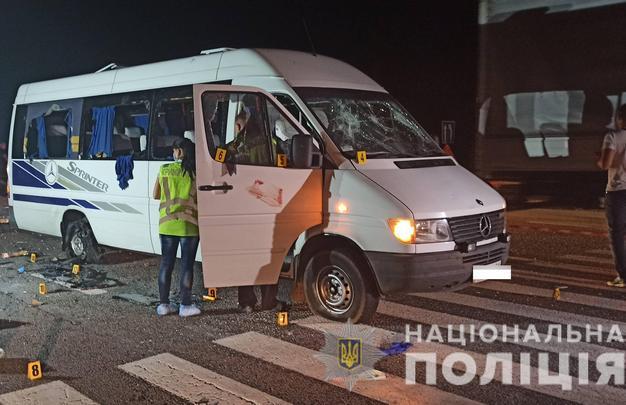 Замах на вбивство був: слідство продовжує шукати тих, хто кидав запалювальні суміші в автобус ОПЗЖ