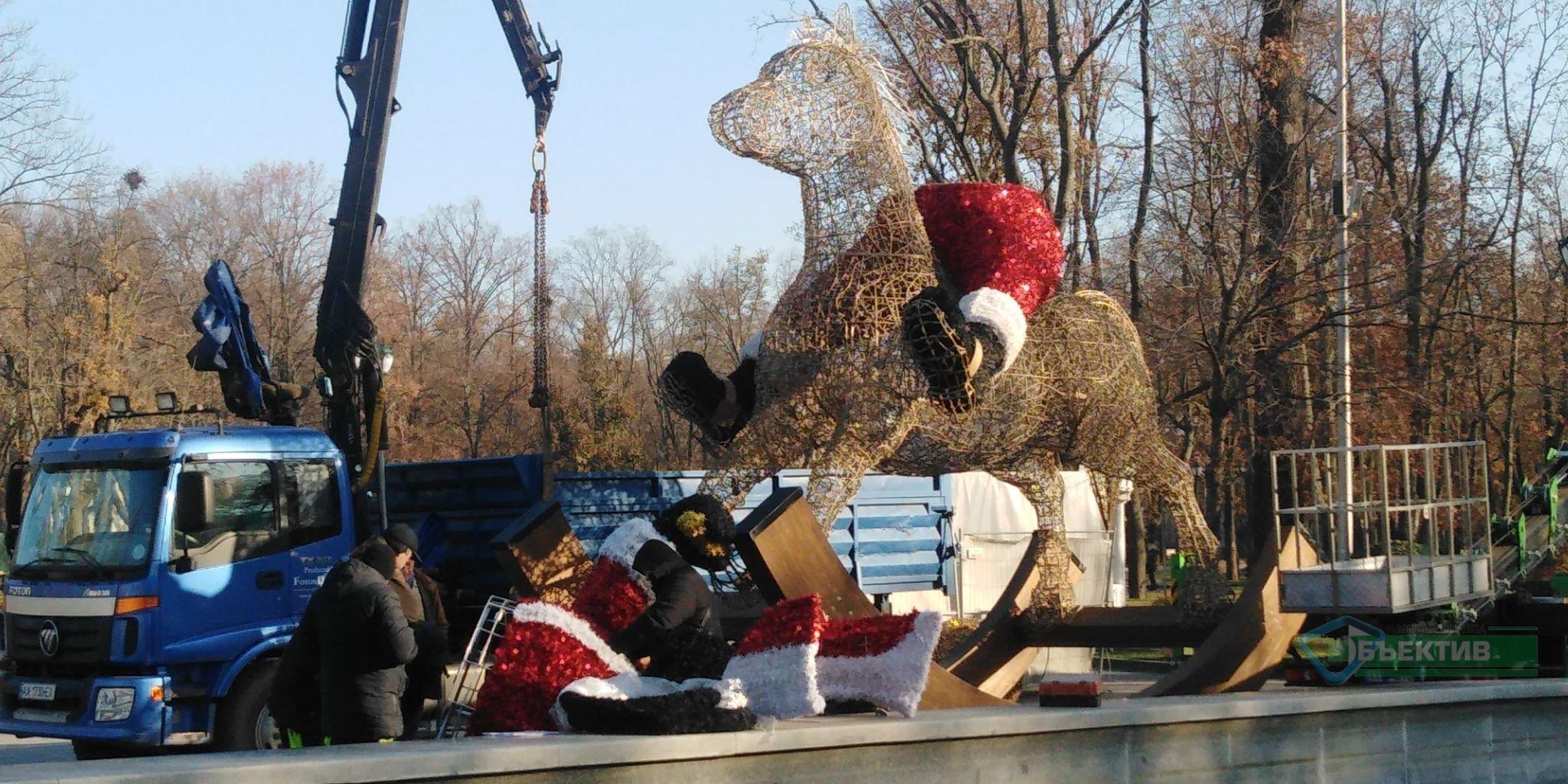 В саду Шевченка з'явиться інсталяція коника (фото)