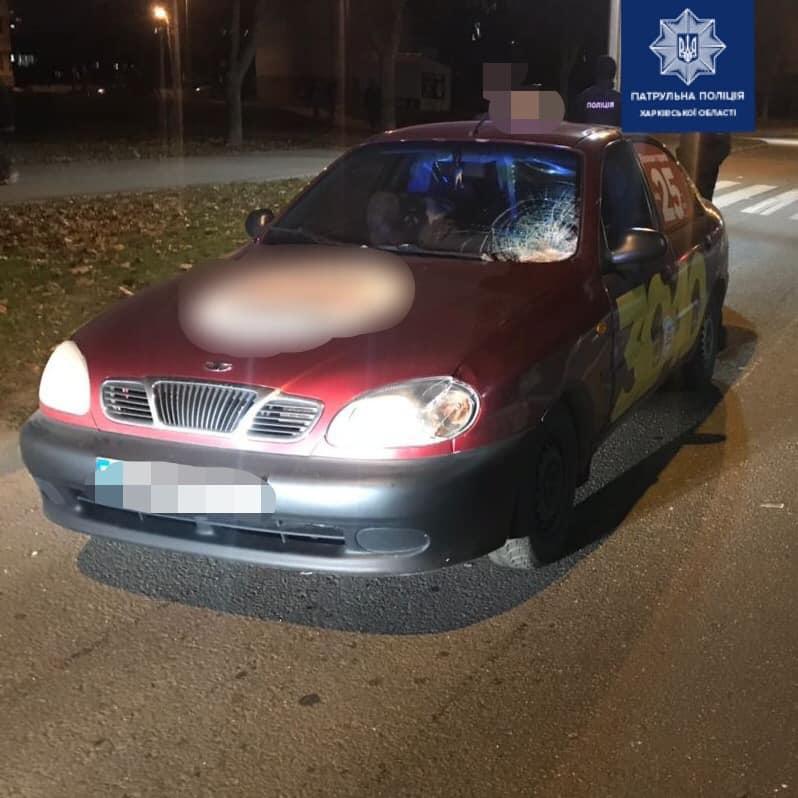 В Харькове автомобиль сбил пешехода (фото)