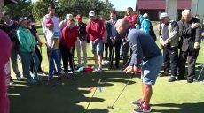 Як грають в гольф люди з вадами зору, слуху, на інвалідних візках
