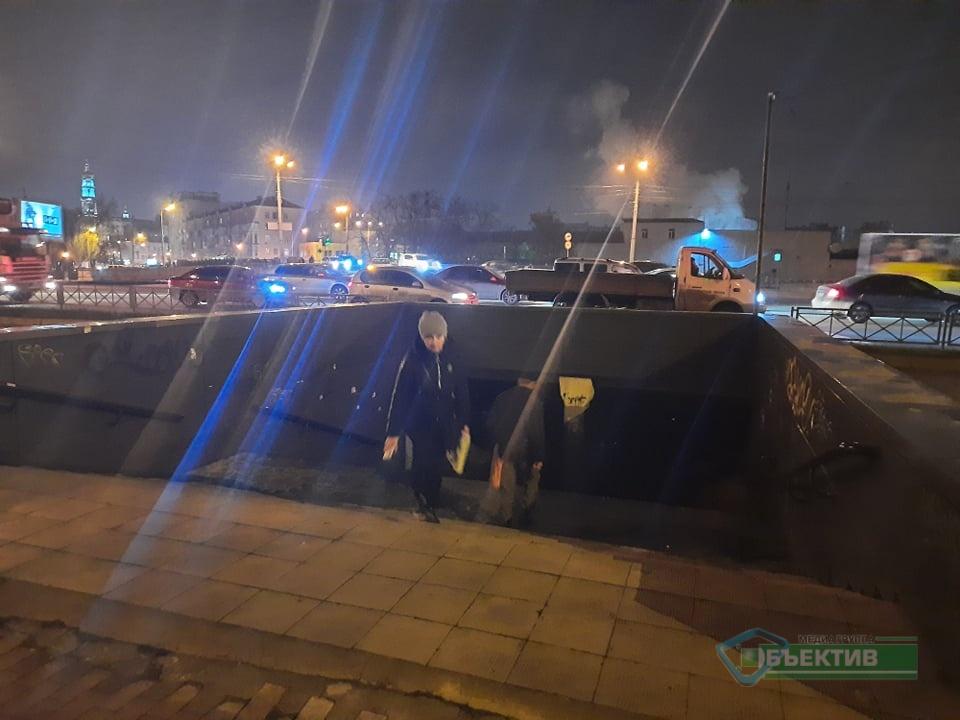 Харьковчане жалуются на неосвещенные подземные переходы в центре Харькова (фото)