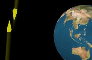 На земной орбите едва не столкнулись два спутника