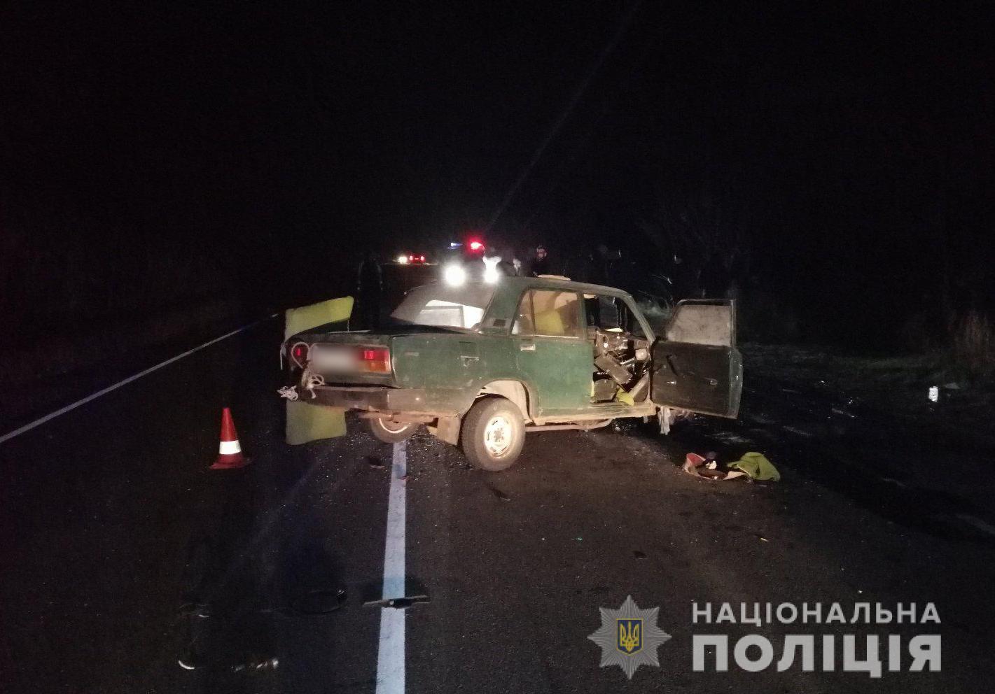 Под Харьковом в лобовом столкновении авто погиб пьяный водитель (фото)