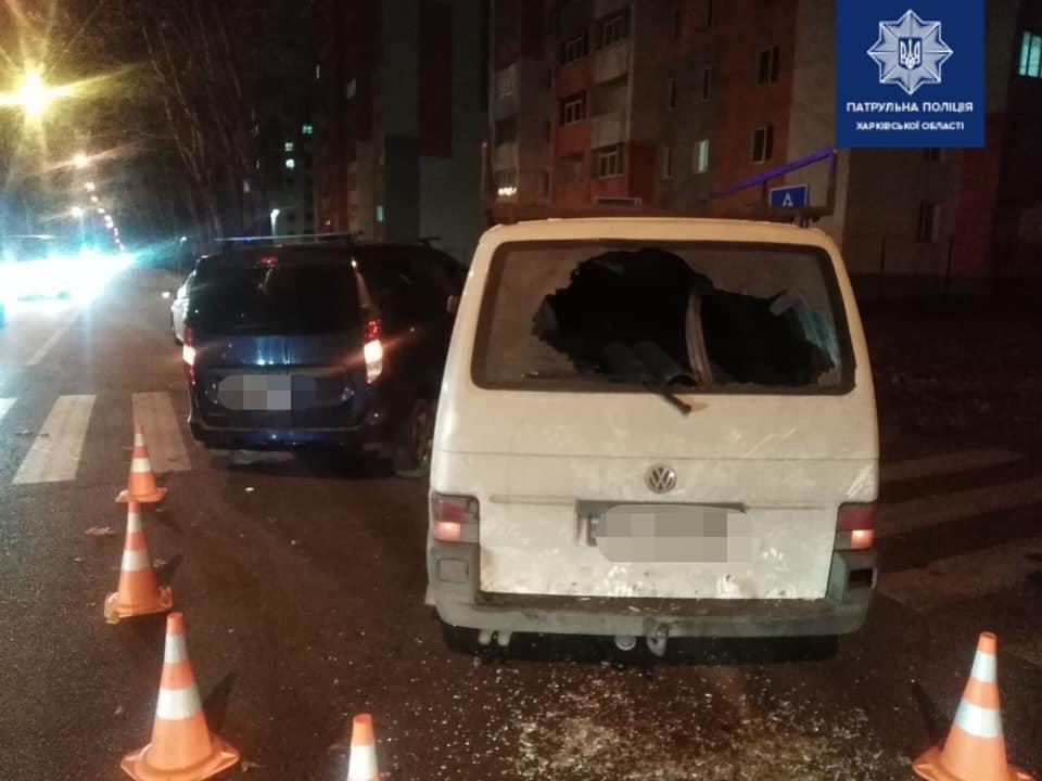 В Харькове в аварию попали водители Renault и Volkswagen