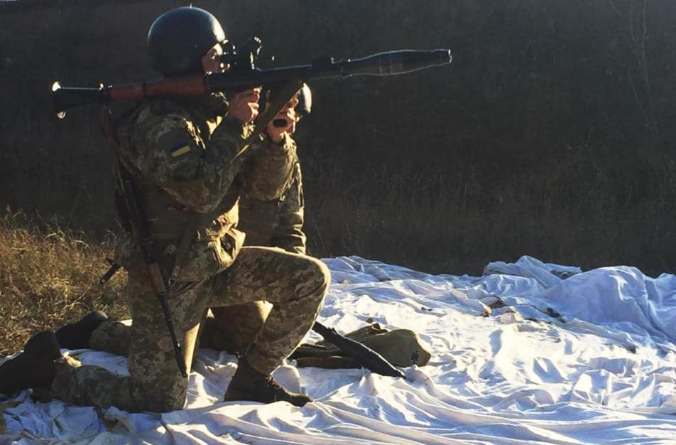 Харьковские пограничники сдали зачеты по стрелковой подготовке (фото)