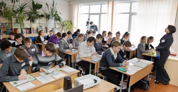 Харьковские школьники снова вернулись за парты