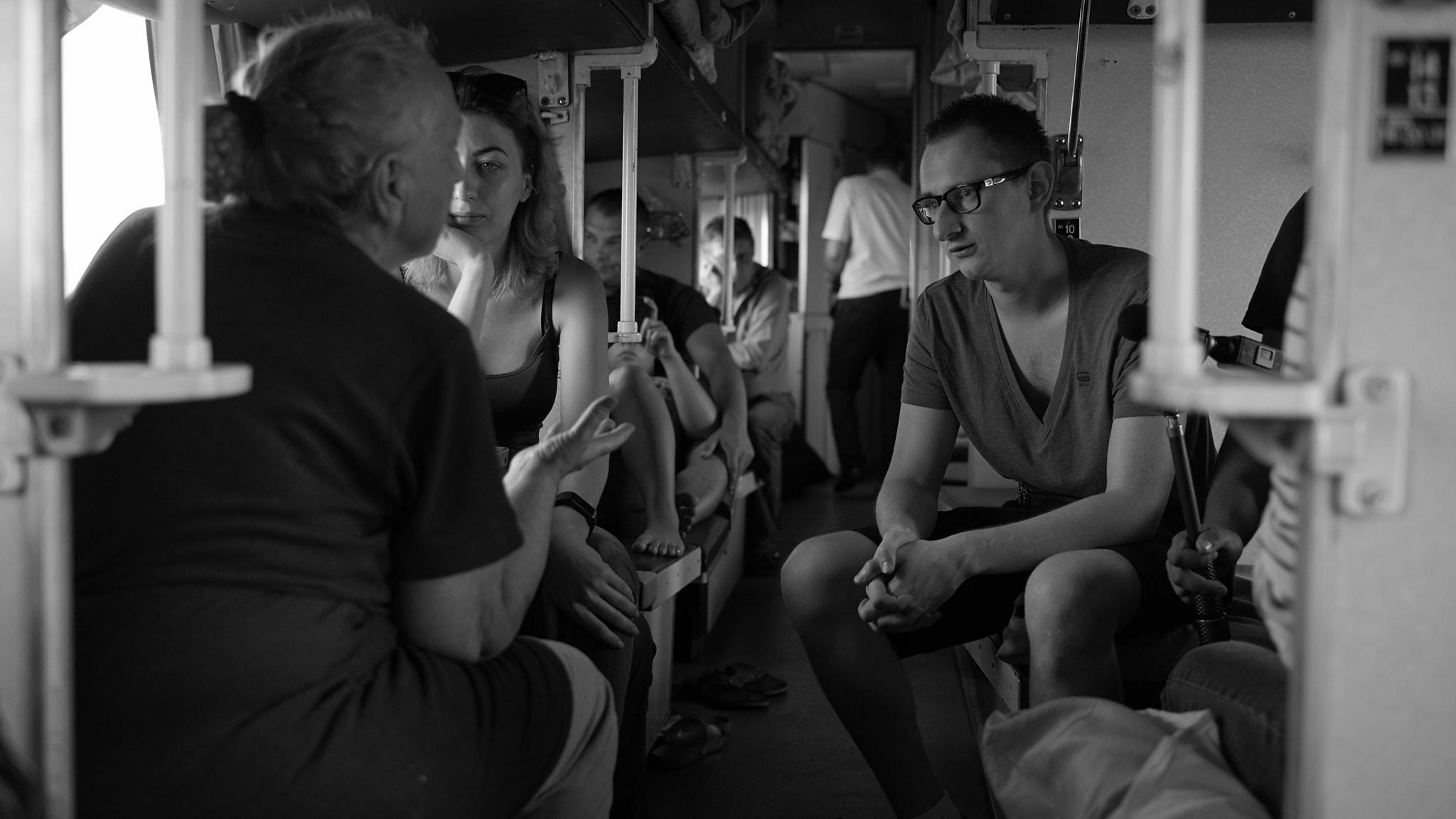 Документальний фільм Корнія Грицюка «Поїзд «Київ-Війна» виходить в український прокат