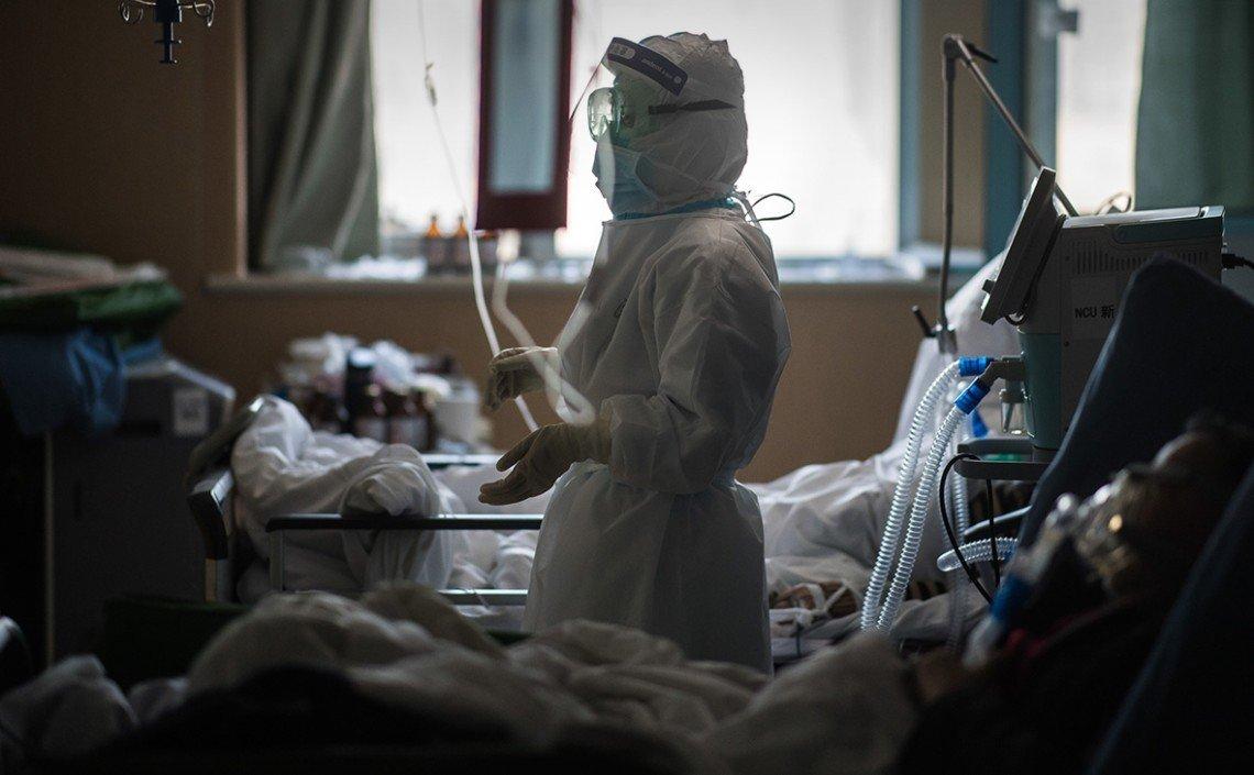 В країні зайняті 52% лікарняних ковідних ліжок — МОЗ