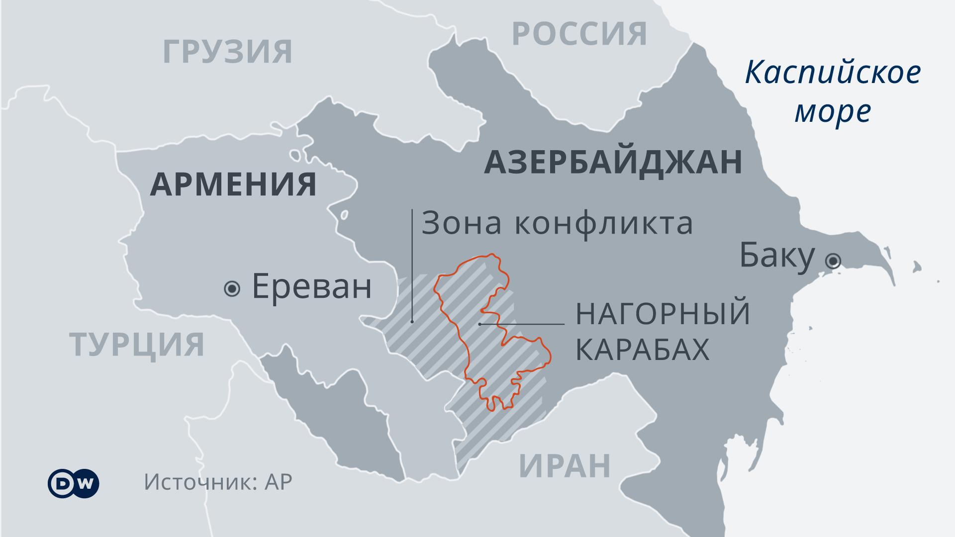 """""""Жизни здесь больше нет"""". Что происходит в Нагорном Карабахе после перемирия — репортаж DW"""