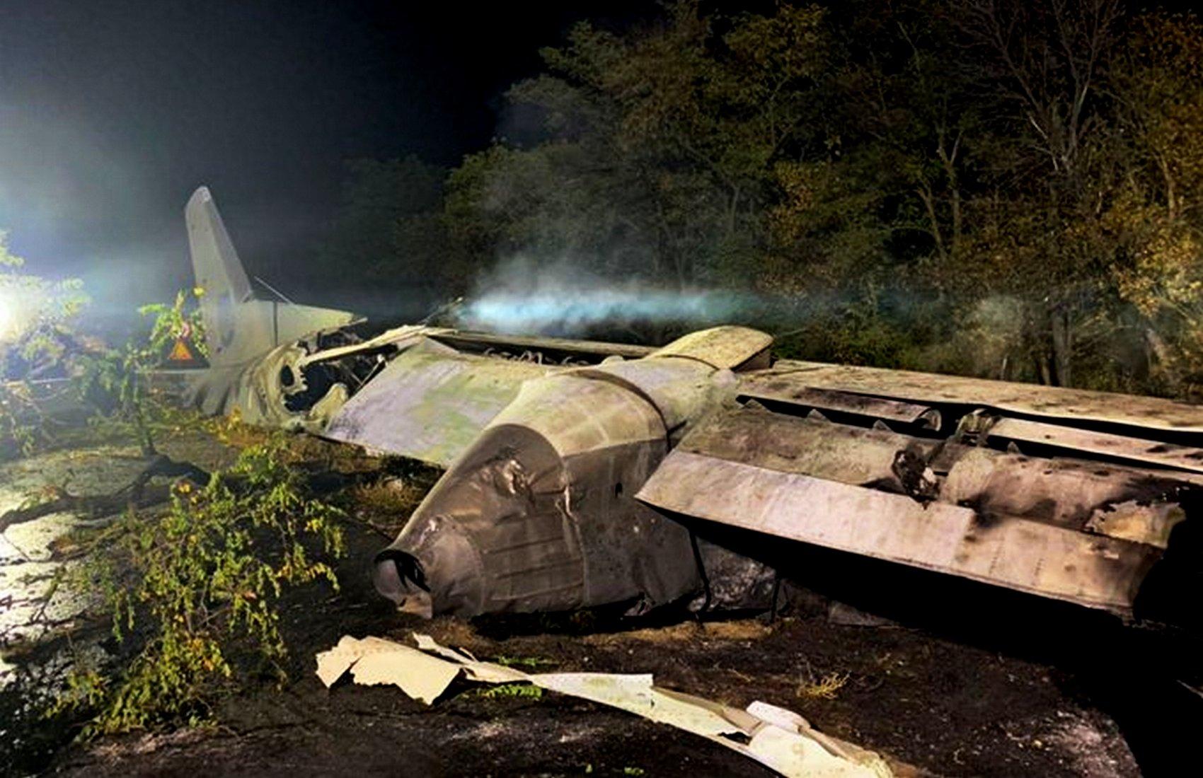 В «Укроборонпроме» не нашли нарушений в ремонте АН-26, который разбился под Чугуевом