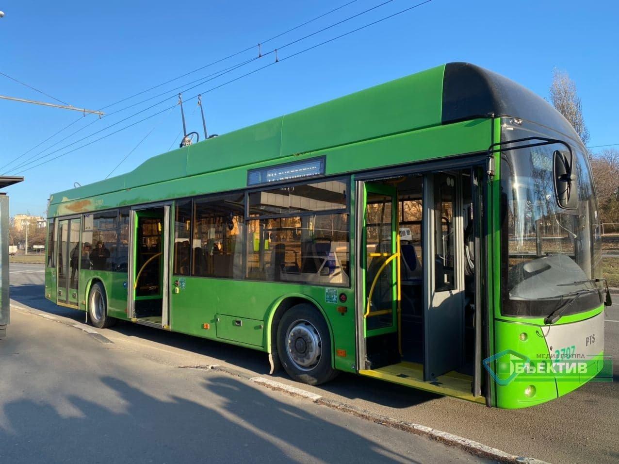 Жители Жихора теперь могут доехать в центр на троллейбусе (фото)