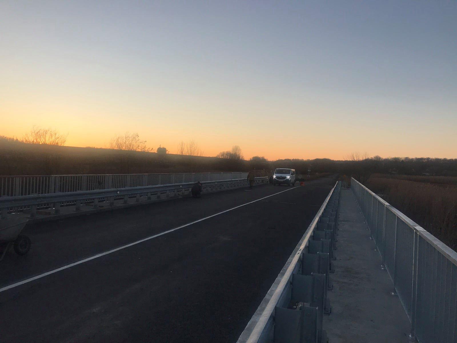 На Харьковщине отремонтировали еще один мост (фото)