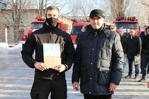 На Харьковщине наградили добровольцев за тушение пожара в Чугуевском районе