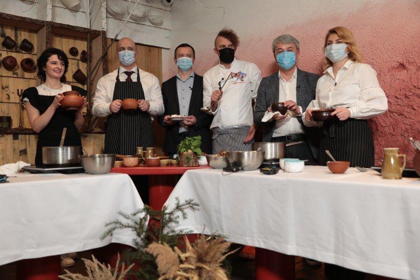 Борщ с вишнями победил в кулинарном соревновании министров