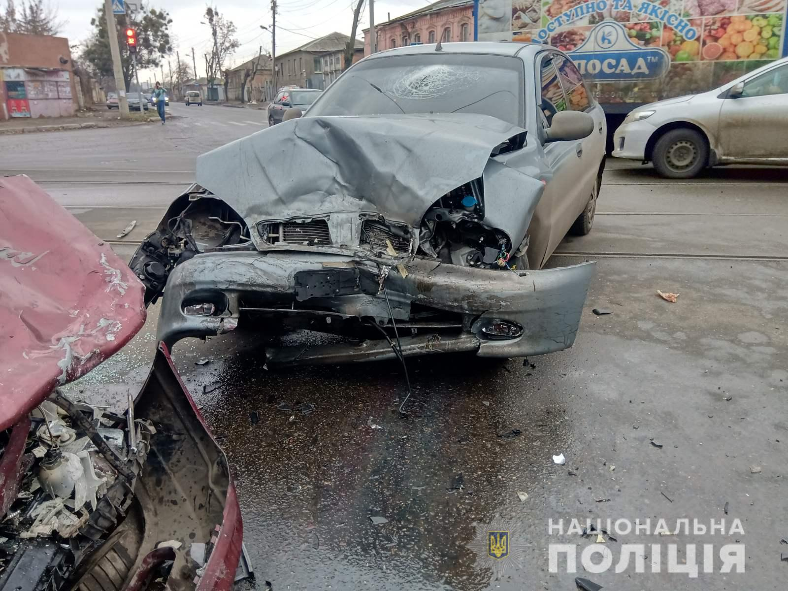 В Харькове в аварии пострадал ребенок (фото)