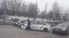 Патрульные стали виновниками ДТП на Сумской – предварительные данные (фото)